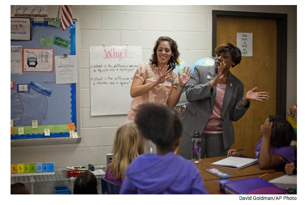 "Newton Teacher Residency Featured in ""The Atlantic"""
