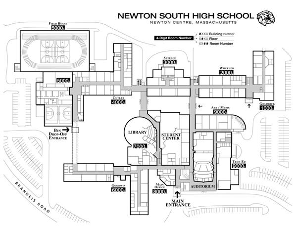 School Information Campus Map