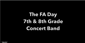 Day Middle School Concert Band