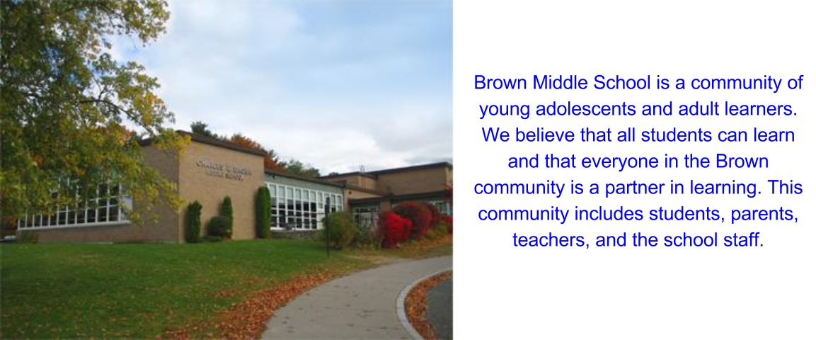 Charles E  Brown Middle School / Homepage