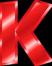 K for Kindergarten